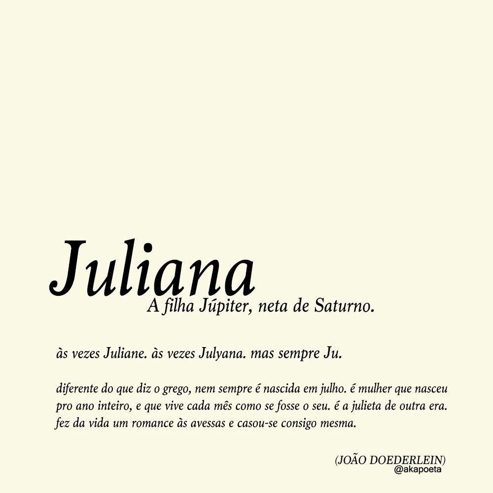 Juliana Por João Doederlein Frases Quotes Frases E Words