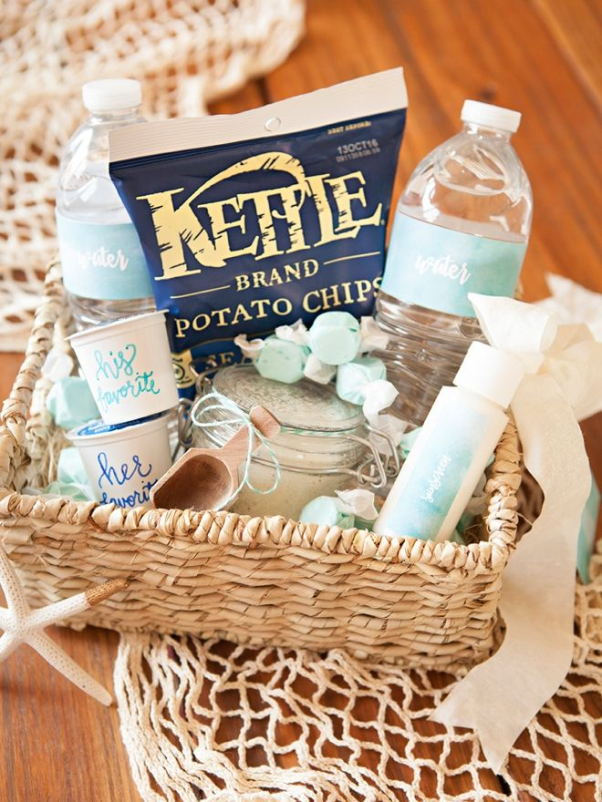 The Anatomy Of A Wedding Hotel Welcome Gift Beach