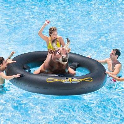 f033346d Intex Inflatabull Bull-Riding Inflatable Swimming Pool Lake Fun ...