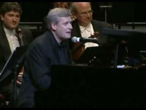 """Oct 3rd, 2009 - CTV - Stephen Harper Plays The Beatles' """" With a Little Help From My Friends"""""""
