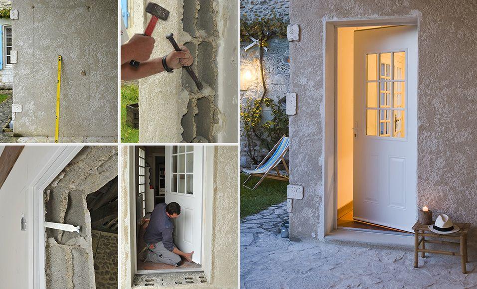 Comment installer une porte dans un mur porteur en - Comment reboucher une porte ...