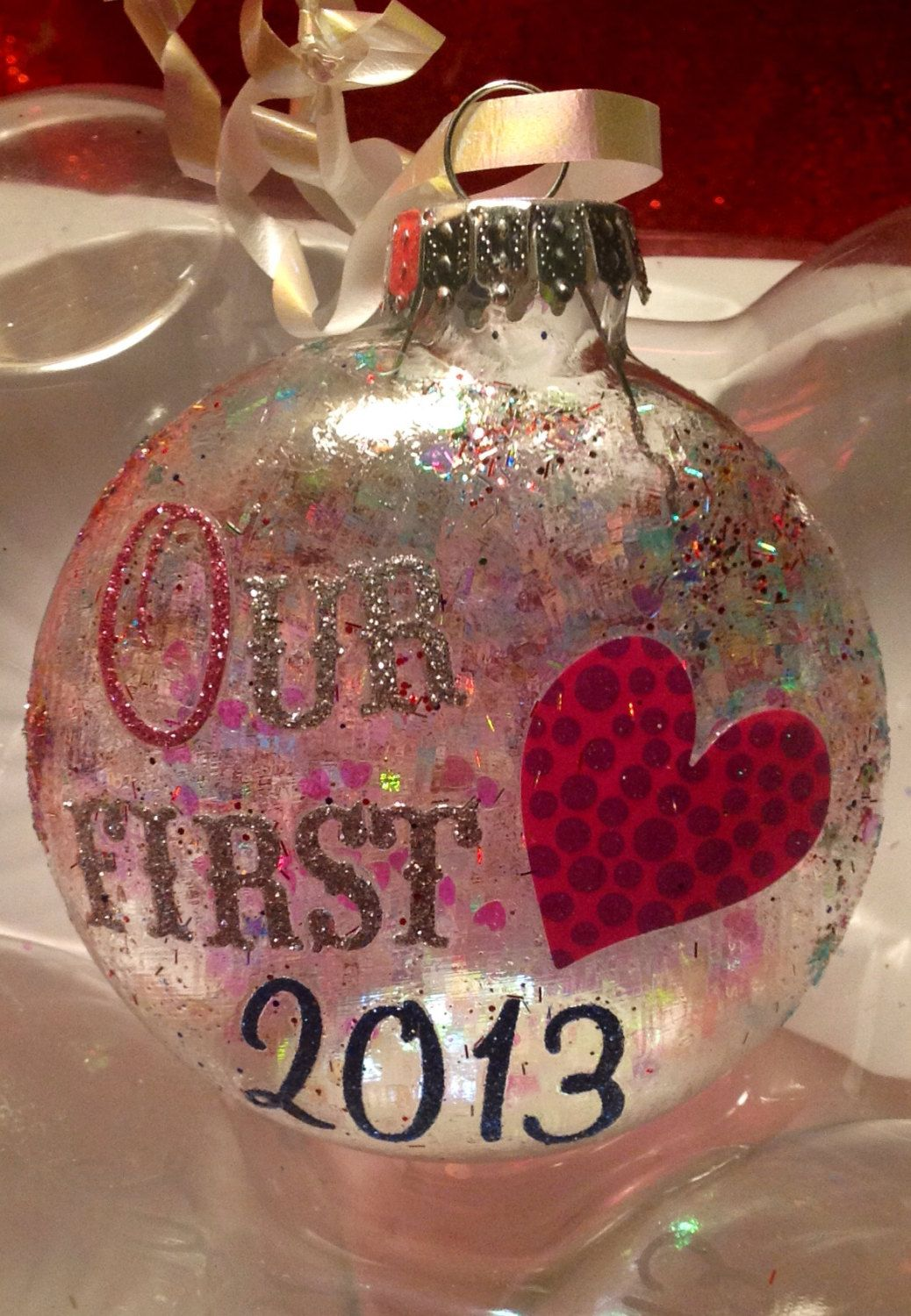 Our First Christmas Together 2013 Ornament by ...
