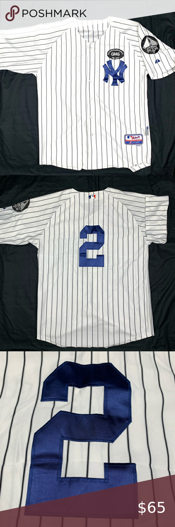 Vgt Ny Yankees Derek Jeter Special Edition Jersey In 2020 Derek Jeter Ny Yankees Colorful Shirts