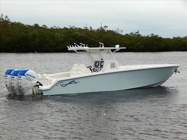 New 2015 Black Water Center Console 36 Sport, Key Largo, Fl