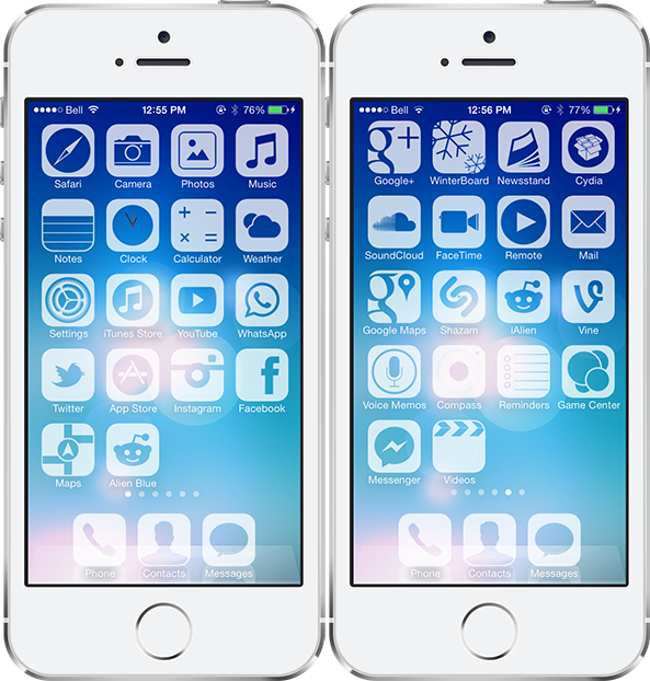 The best Winterboard themes for iOS 7 Ios 7, Theme, Baby
