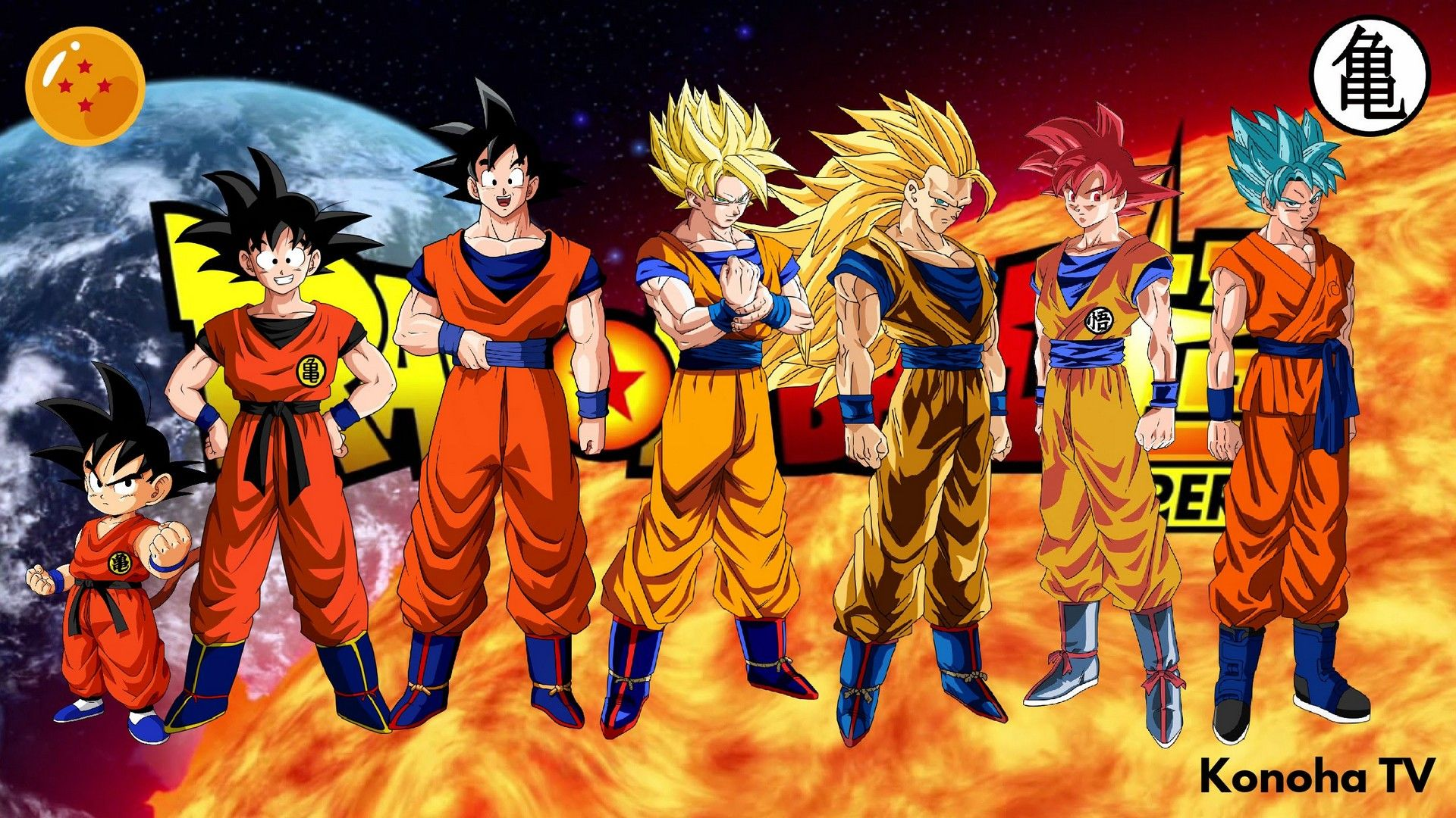 Goku All Form Dragon Ball Super Wallpaper Imagenes De Goku