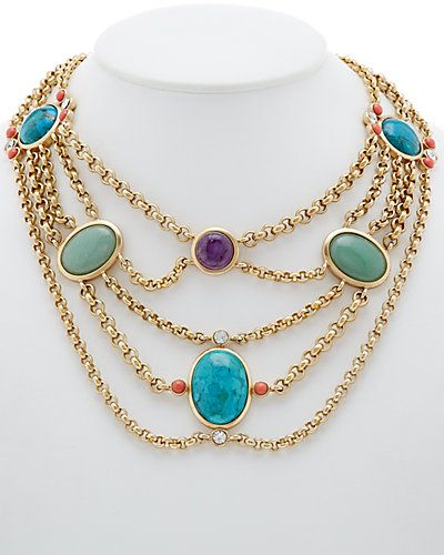 f2100b436 Get it now on Rue La La. | Pretty Things | Turquoise necklace ...