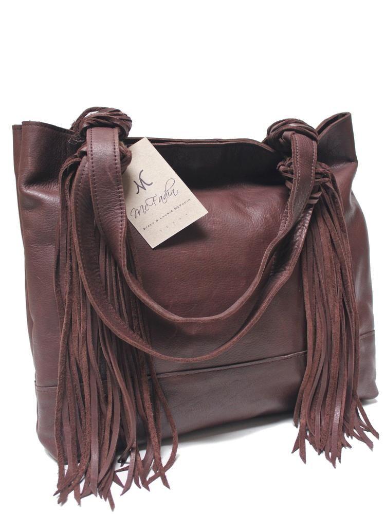 Mcfadin Fringe Tassel Large Women S Tote Bag Brown 860brn