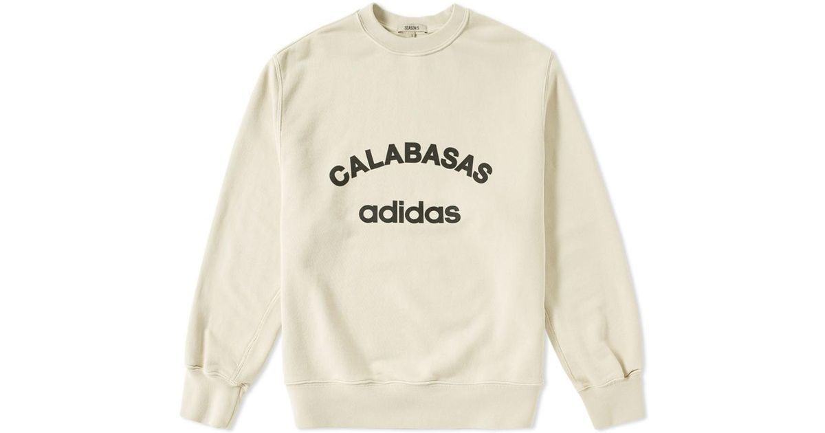 24349e19b73 Lyst - Yeezy Season 5 Crewneck Sport By Adidas X for Men