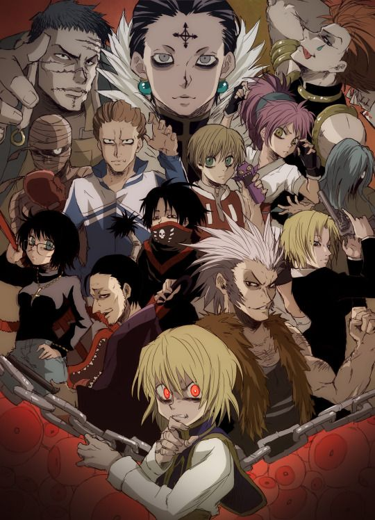 Hunter X Hunter Brigade Fantome : hunter, brigade, fantome, Kurapika, Phantom, Troupe, Hunter, Anime,, Hunter,, Anime