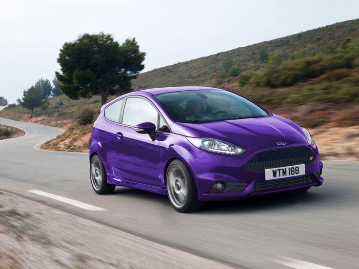 Purple Ford Fiesta Purple Car Ford Fiesta Ford