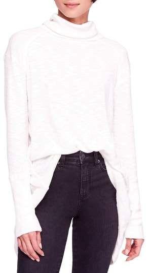 533eb4984f53 Free People Split Back Turtleneck #ad #fall #white #cozy #fashion  #fashiontrends #turtleneck #shopstyle