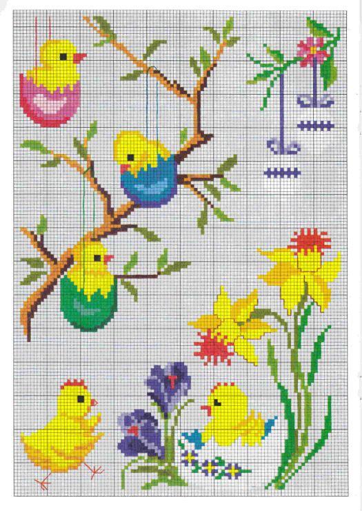 Gallery.ru / Фото #10 - Permin - logopedd   cross stitch   Pinterest ...