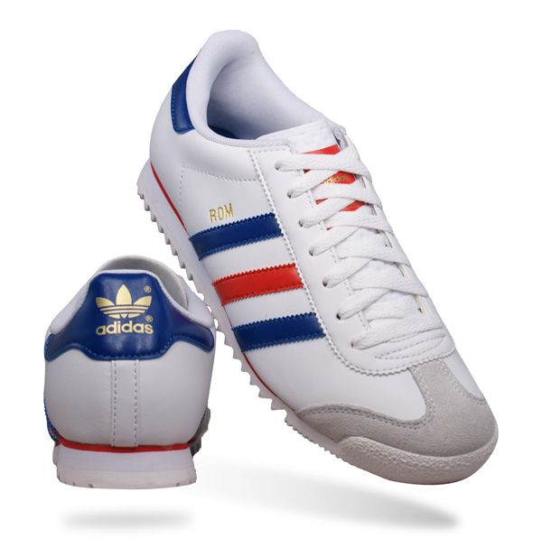 great fit 111fe 13947 Adidas Originals Rom Mens Leather Trainers  Shoes - White The legacy of  the Adidas Rom