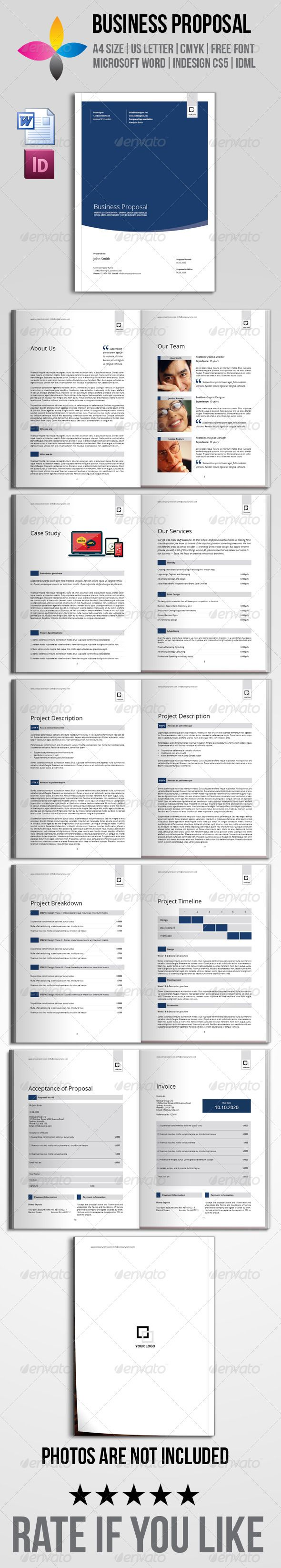 Business Proposal By Inddesigner 12 Pages A4 8 2677a 11 6929 Us