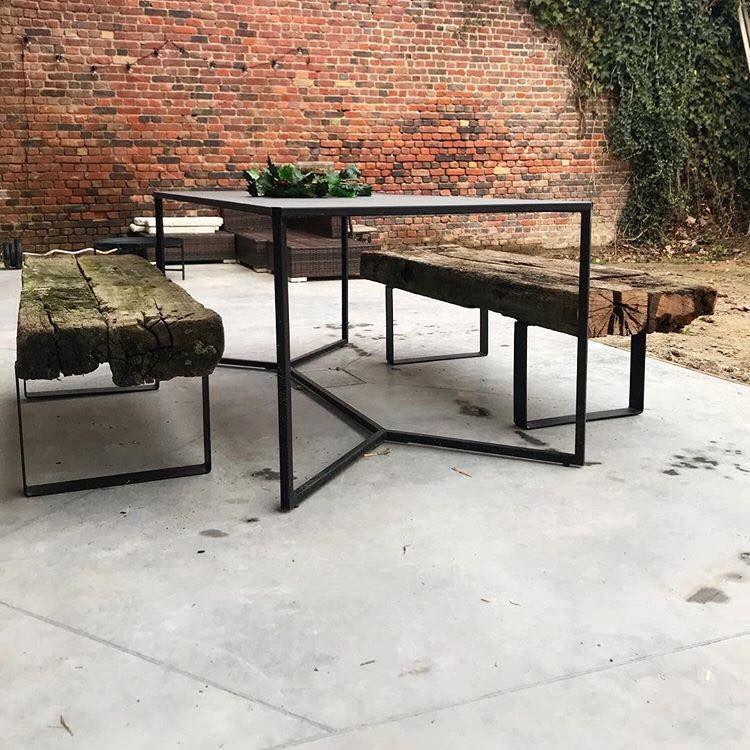 Pied De Table Acier 40cm Fer Plat La Fabrique Des Pieds La Fabrique Des Pieds Fer Plat Table Basse Fer