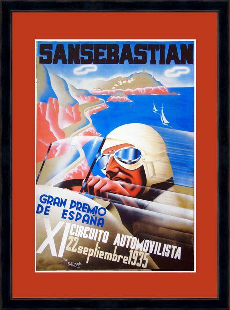 Tienda online, venta de cuadros de carteles vintage: información  en: tolo@ovaloobrasdearte.es