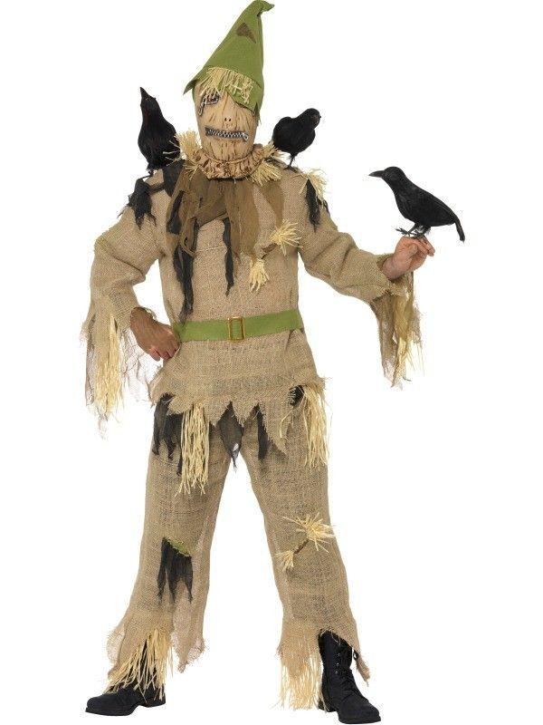 Scared Crow Costume £4299   wwwfancydresscityuk - halloween costumes scary ideas