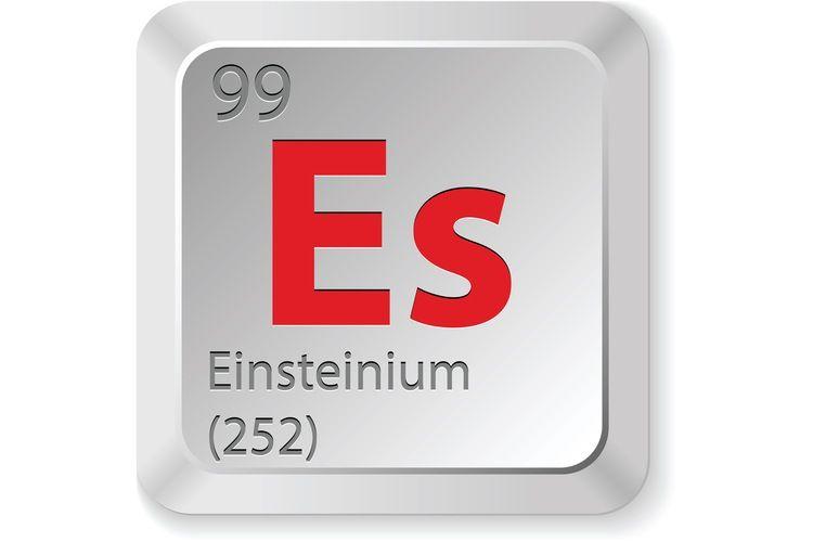 Facts About Einsteinium - new tabla periodica lenntech