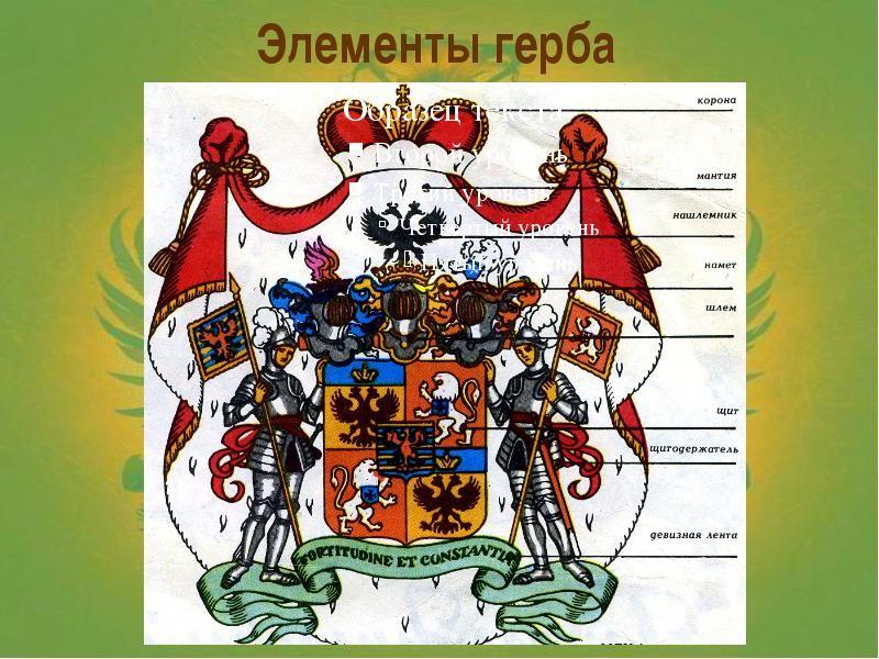 О чем нам рассказывают гербы и эмблемы