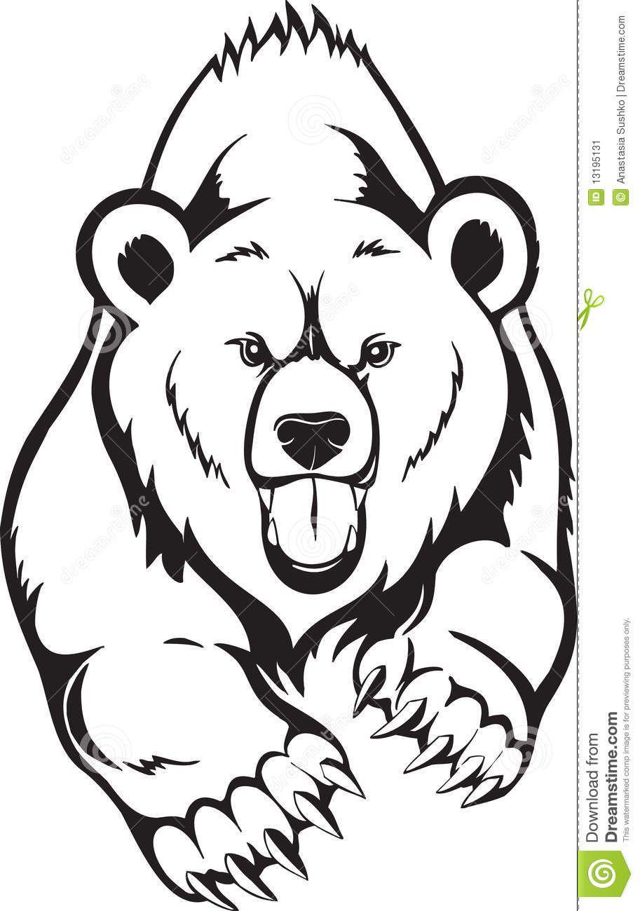 Uncategorized Bear Drawings animals for grizzly bear drawing more