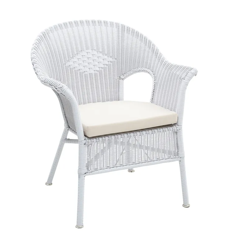Casbah White Stacking Chair Pier 1 in 2020 White