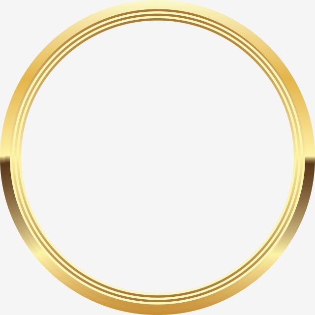 Circle Clipart Gold Circle Goldcircle Gold Clipart Circle Gold Clipart Line Line Vector Circle Vec Gold Circle Frames Photo Frames For Kids Frame Border Design