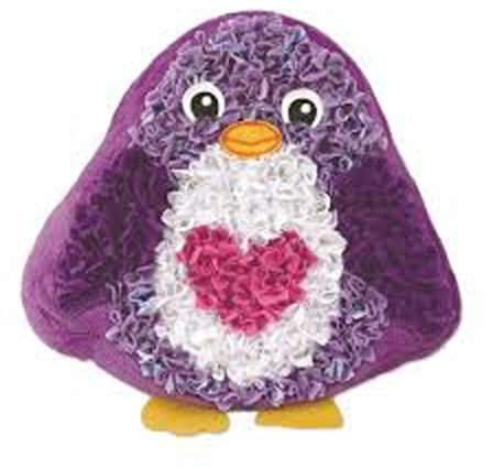 Plushcraft Plushcraft Penguin Pillow Craft Kit 200 Pieces