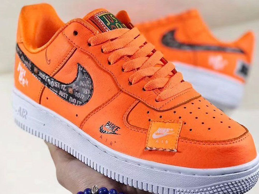 WHERE TO BUY: the Nike Air Force 1 and Air Max 1 'Just Do It