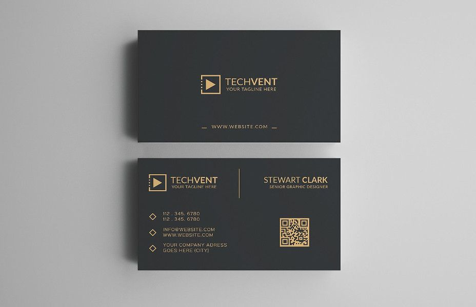 25+ Corporate Business Card Templates In PSD, Word Design