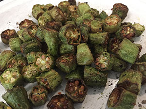 City Grill'n Phillips Air Fryer Okra Flavored bacon