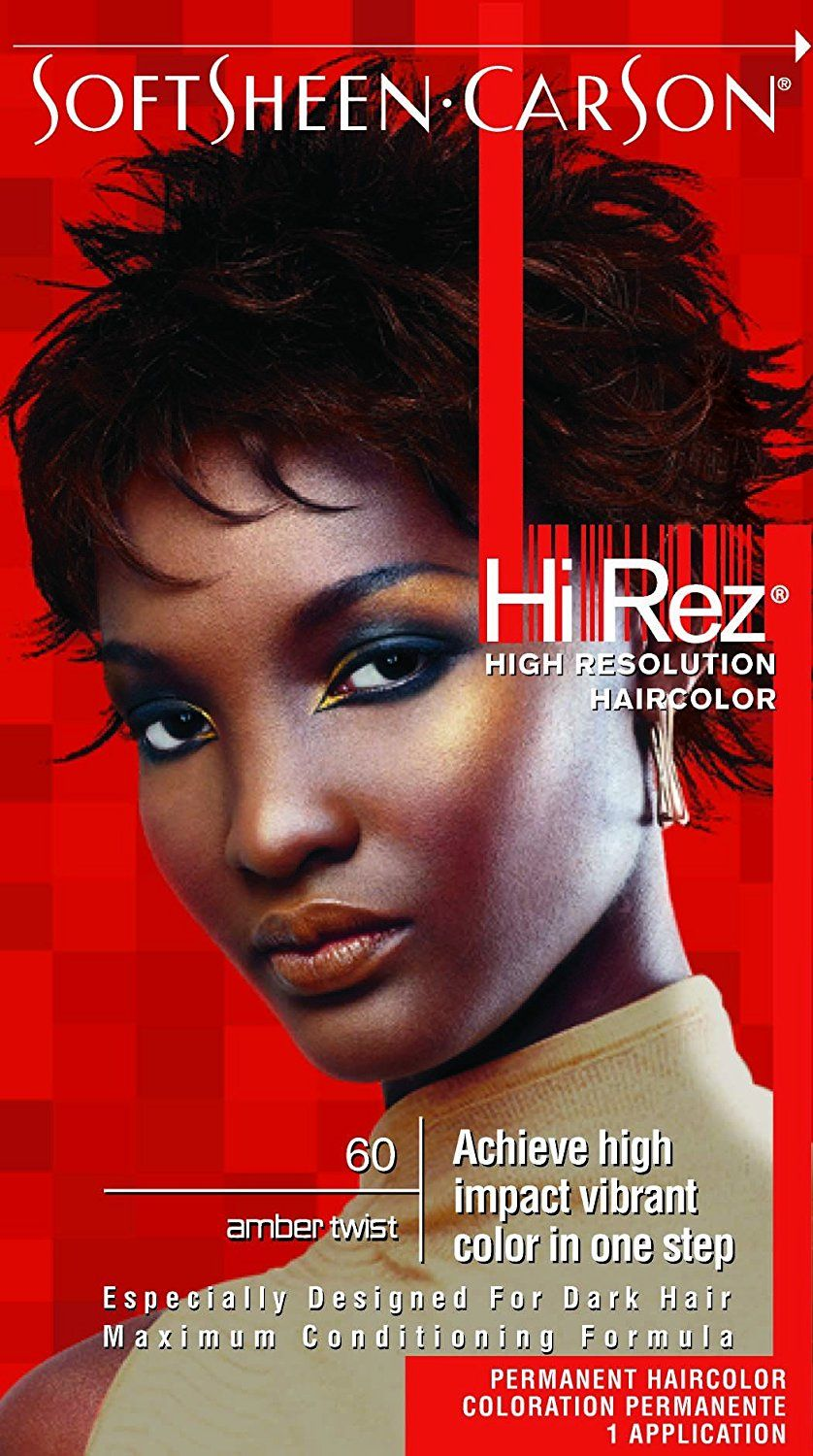 Hi Rez High Resolution Hair Color 60 Amber Twist Kit Pack Of 6