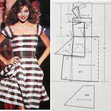 Free book--- dresses (Chinese method of pattern making)   Sewing ...