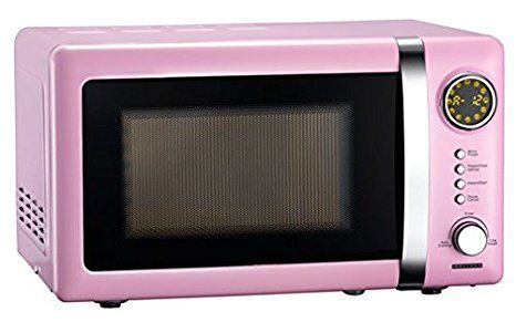 Zum Kaufen Rosa 700 Watt Mikrowelle 20 Liter Garraum