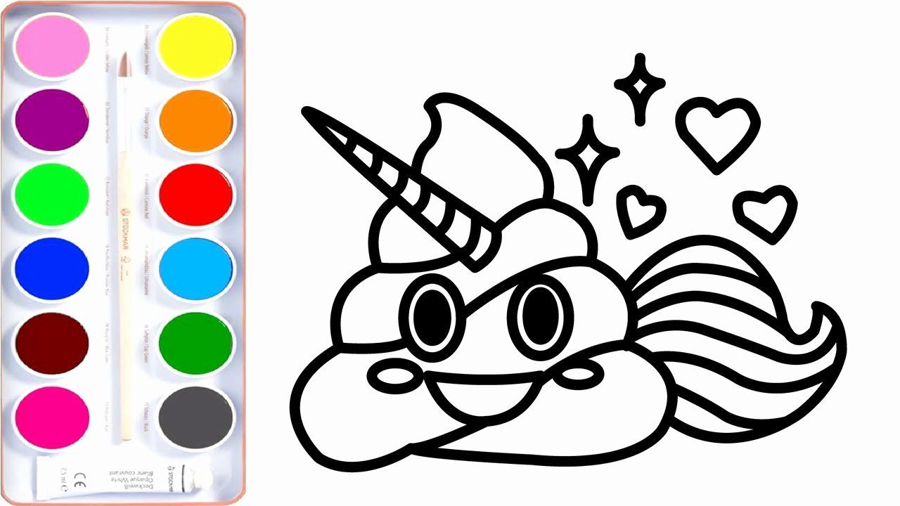 Unicorn Emoji Coloring Page Inspirational Unicorn Emoji Coloring Page Coloring Pages For Kids Unicorn Coloring Pages Coloring Pages Printable Coloring Pages