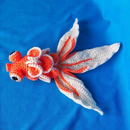 Ami Gold Fish || Free Pattern | Crochet : animales | Pinterest ...
