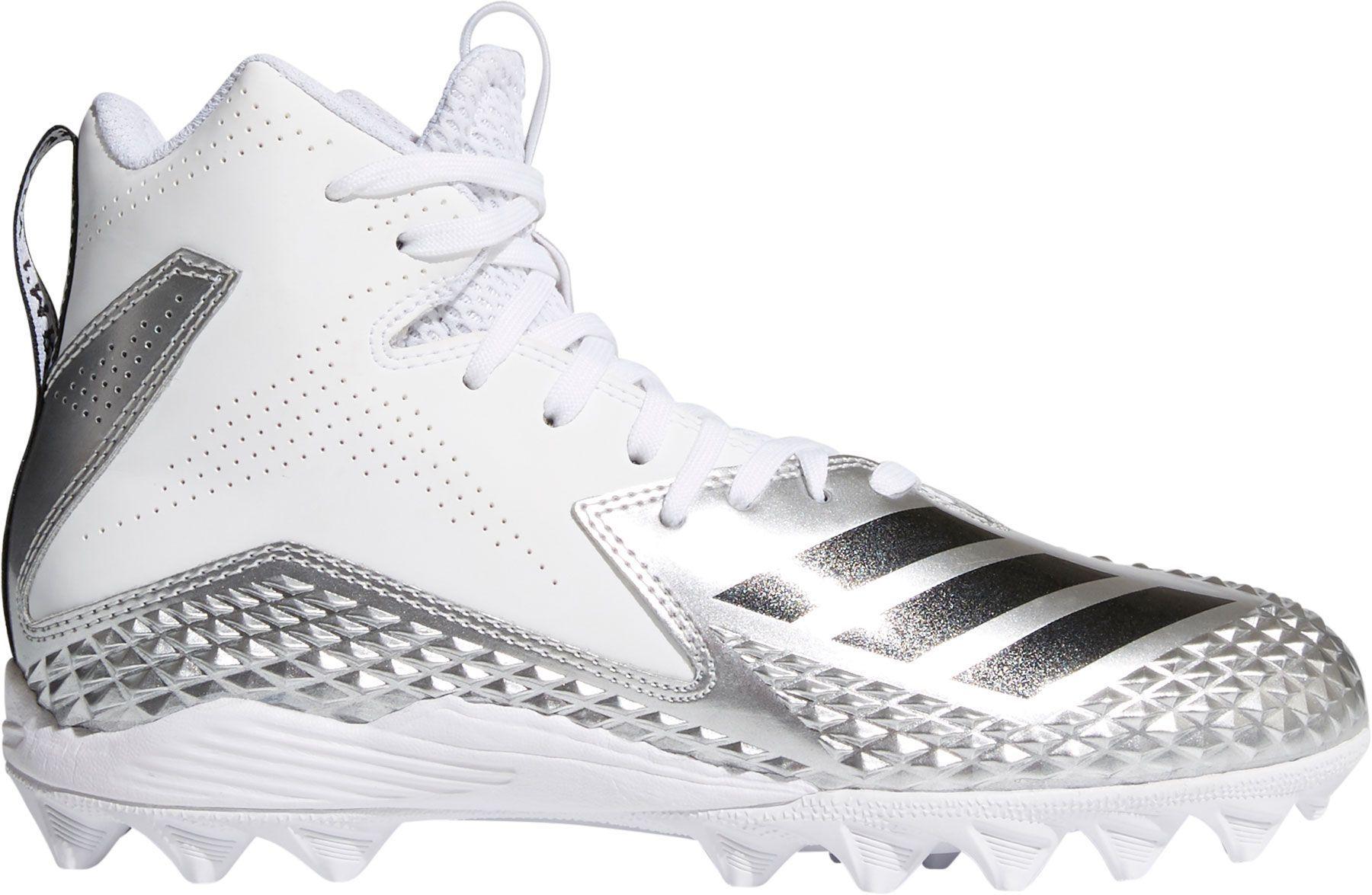 adidas Kids' Freak Mid MD Von Football Cleats, Size: 1.0