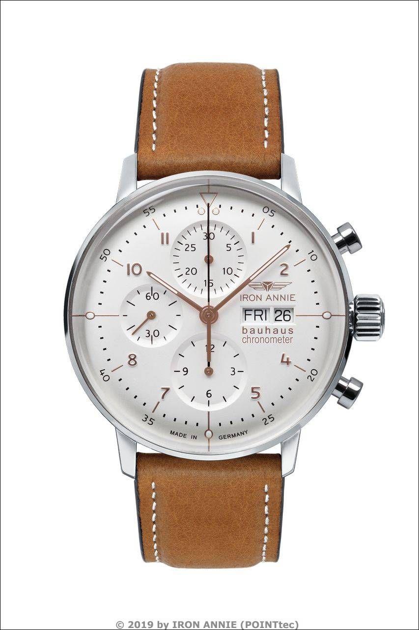 "IRON ANNIE Bauhaus Chronometer Chronograph ""Sternwarte"