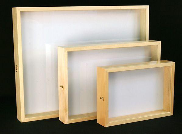 Catalog #1041AP: 9X13 Series Display Cases (click to close)
