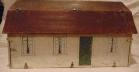 Antique Dollhouse South County Cottage by Tynietoy