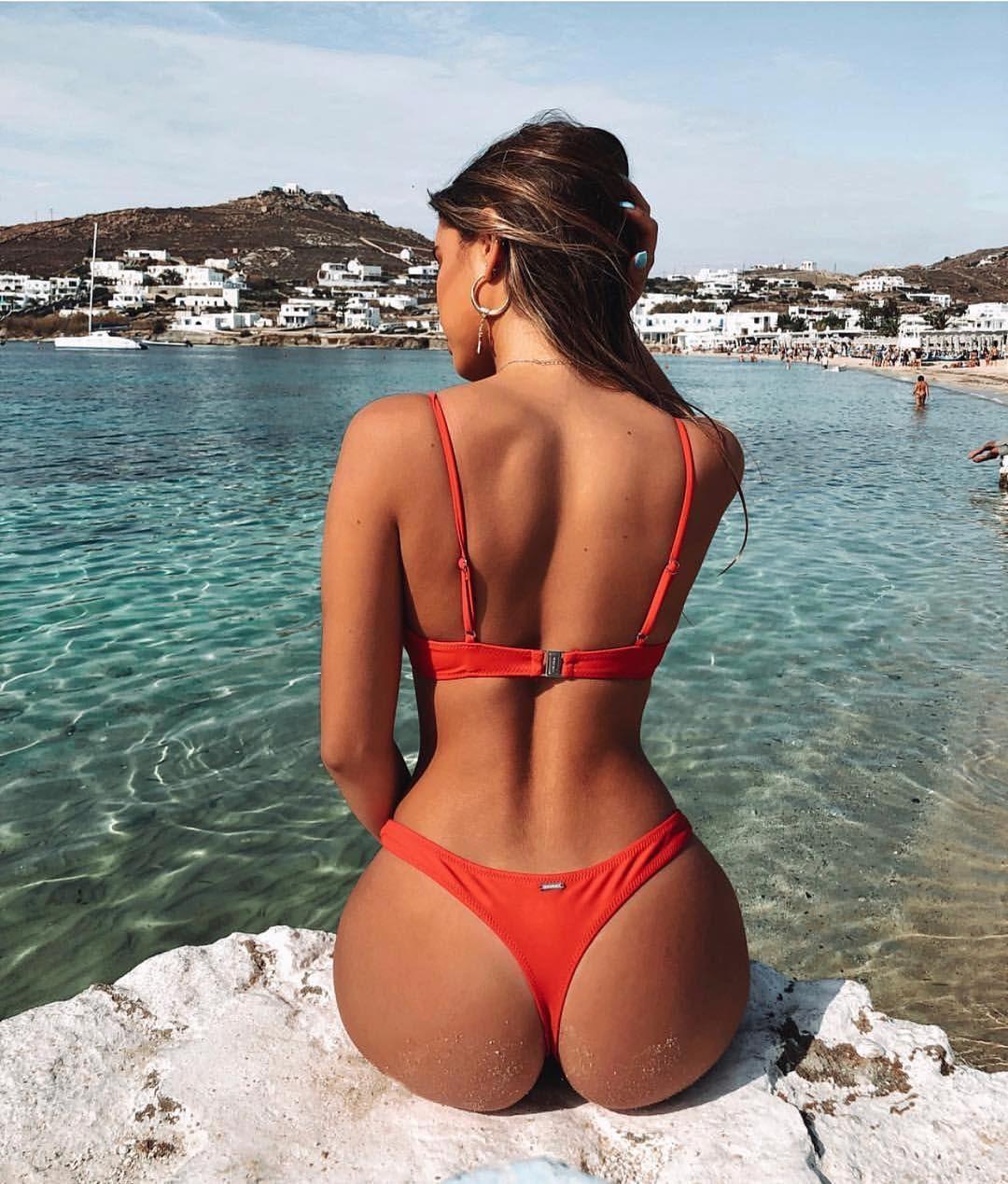 """94917e23a12 White Fox Swim on Instagram: """"Paradise 💦 @ashleighmenin wearing the ' Catalina'"""