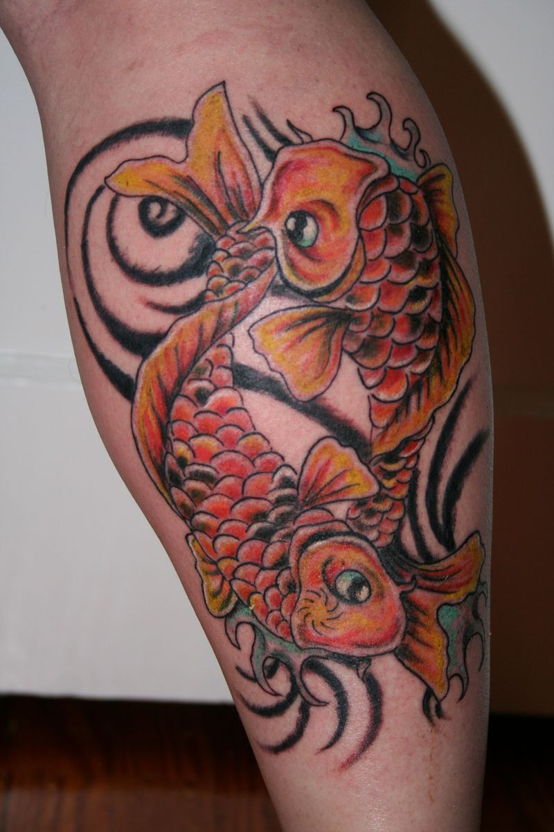 ying yang koi fish tattoos   Ying Yang Koi   koi tattoo   Pinterest ...