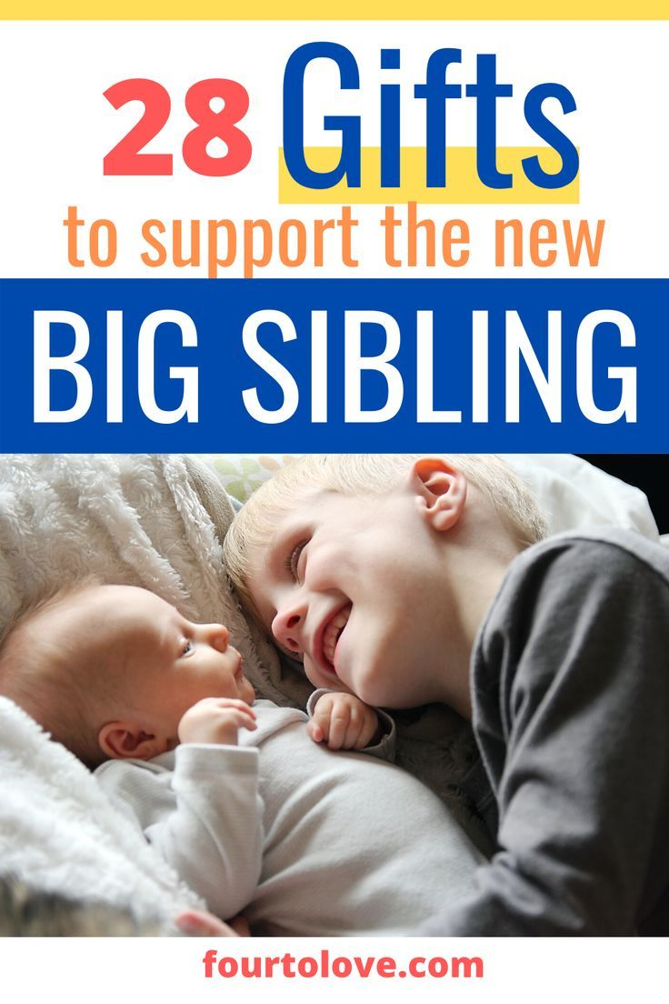 28 perfectly supportive new baby gifts for siblings four