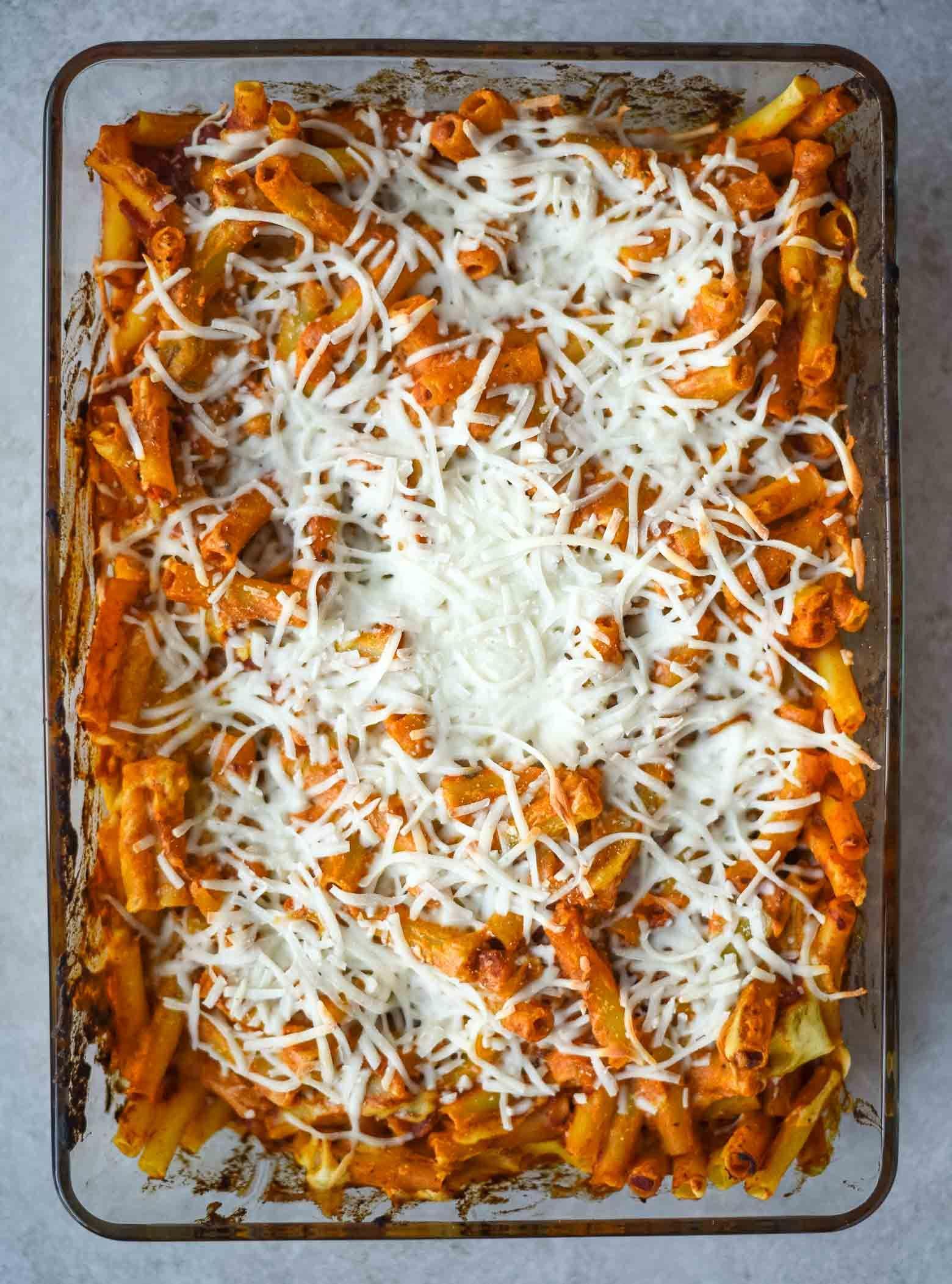 Vegan Baked Ziti