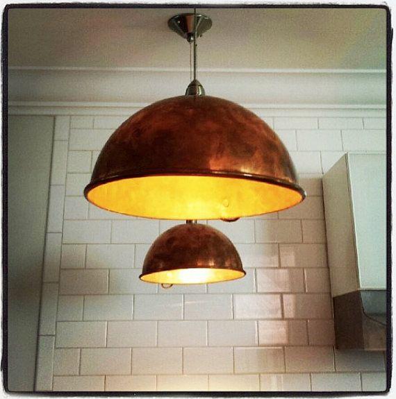 Copper Mixing Bowl Pendant Lights 6 Quot Bowl Pendant Lights
