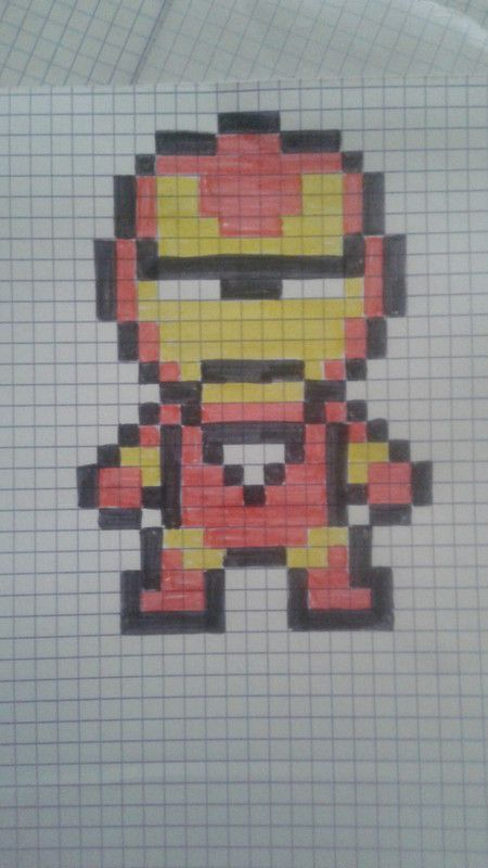 Iron Man 2 Pixel Art