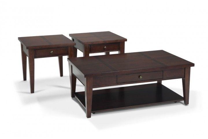 Kade Coffee Table Set Cherry coffee table, Coffee and Living rooms