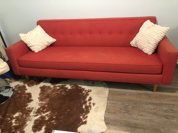 Stylish Couch From West Elm Only 150 For Sale In Austin