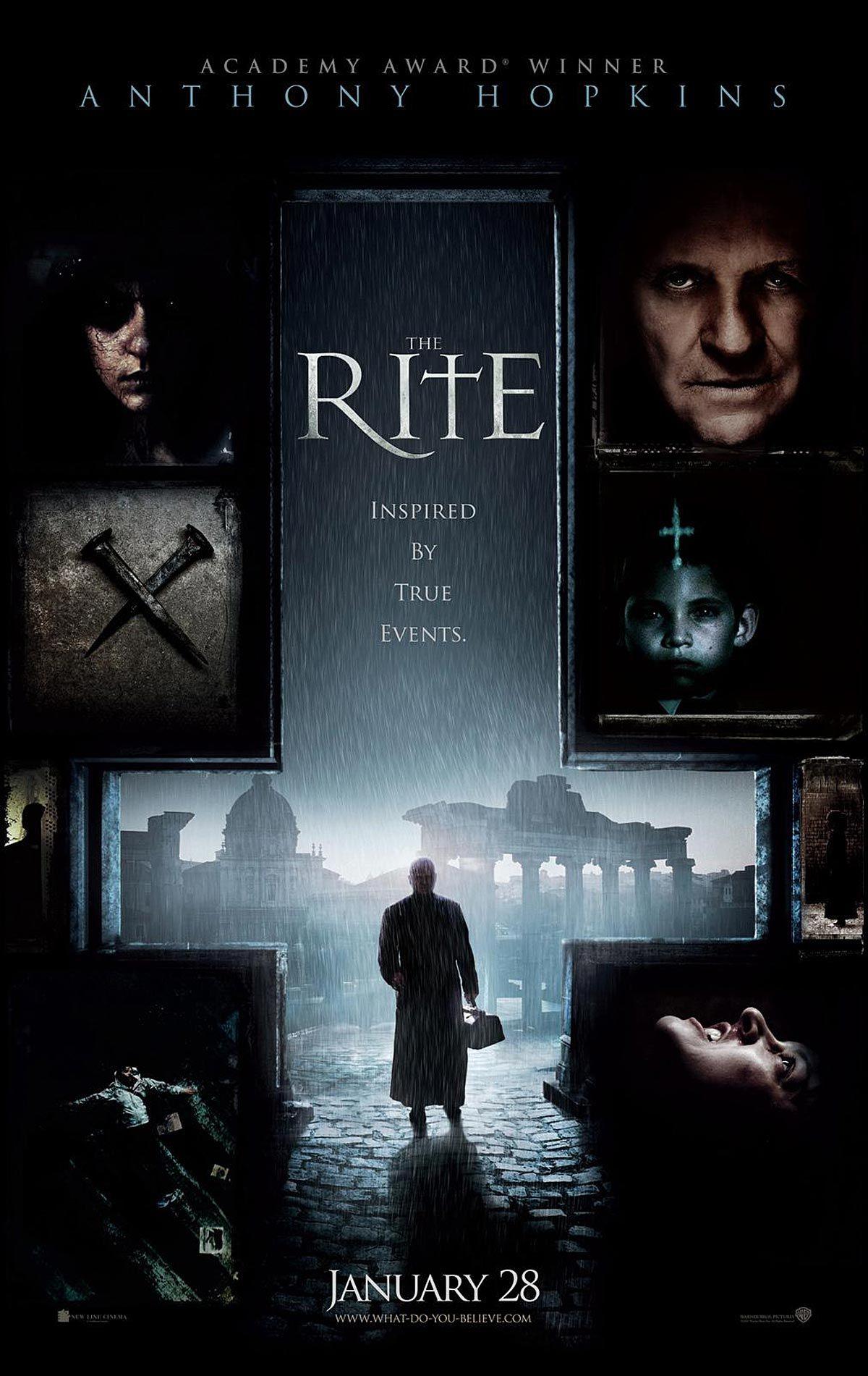 The Rite (2011) Anthony hopkins, Korku filmleri, Film
