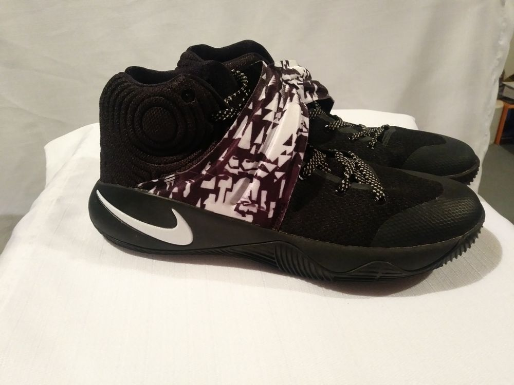 online store 13839 5f73f Nike Kyrie 2 ID Black White Size 10  fashion  clothing  shoes